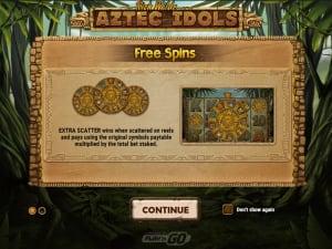Darmowe spiny Aztec Idols